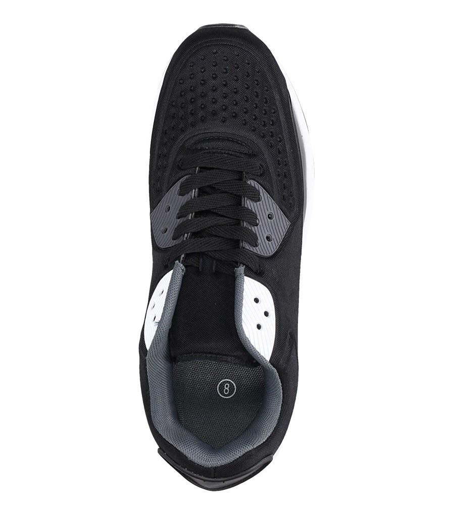 Czarne buty sportowe sznurowane Casu 8867-6 wys_calkowita_buta 13.5 cm