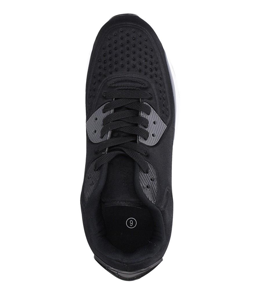 Czarne buty sportowe sznurowane Casu 8867-7 wys_calkowita_buta 13.5 cm