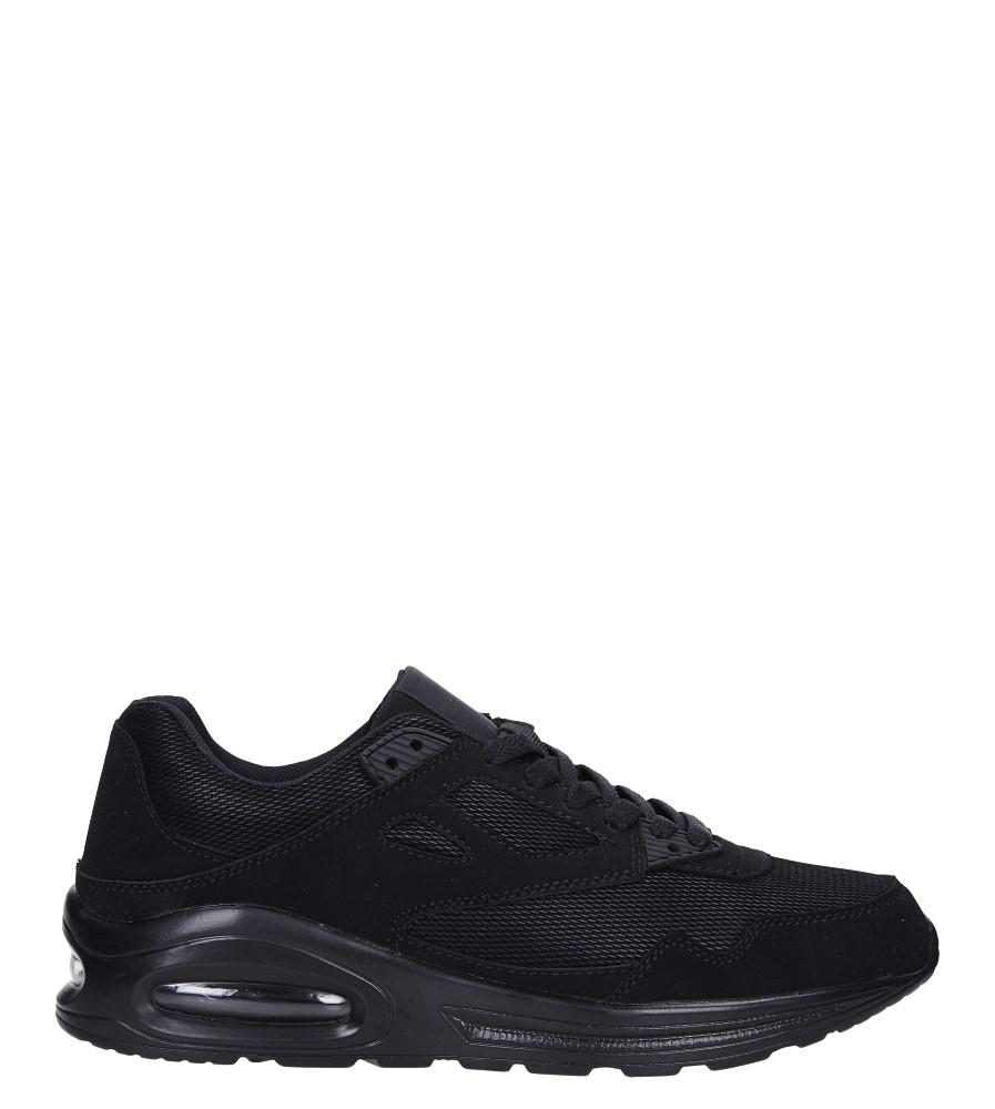 Czarne buty sportowe sznurowane Casu 903-1