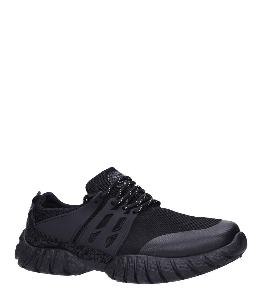 Czarne buty sportowe sznurowane Casu 9120 producent Casu