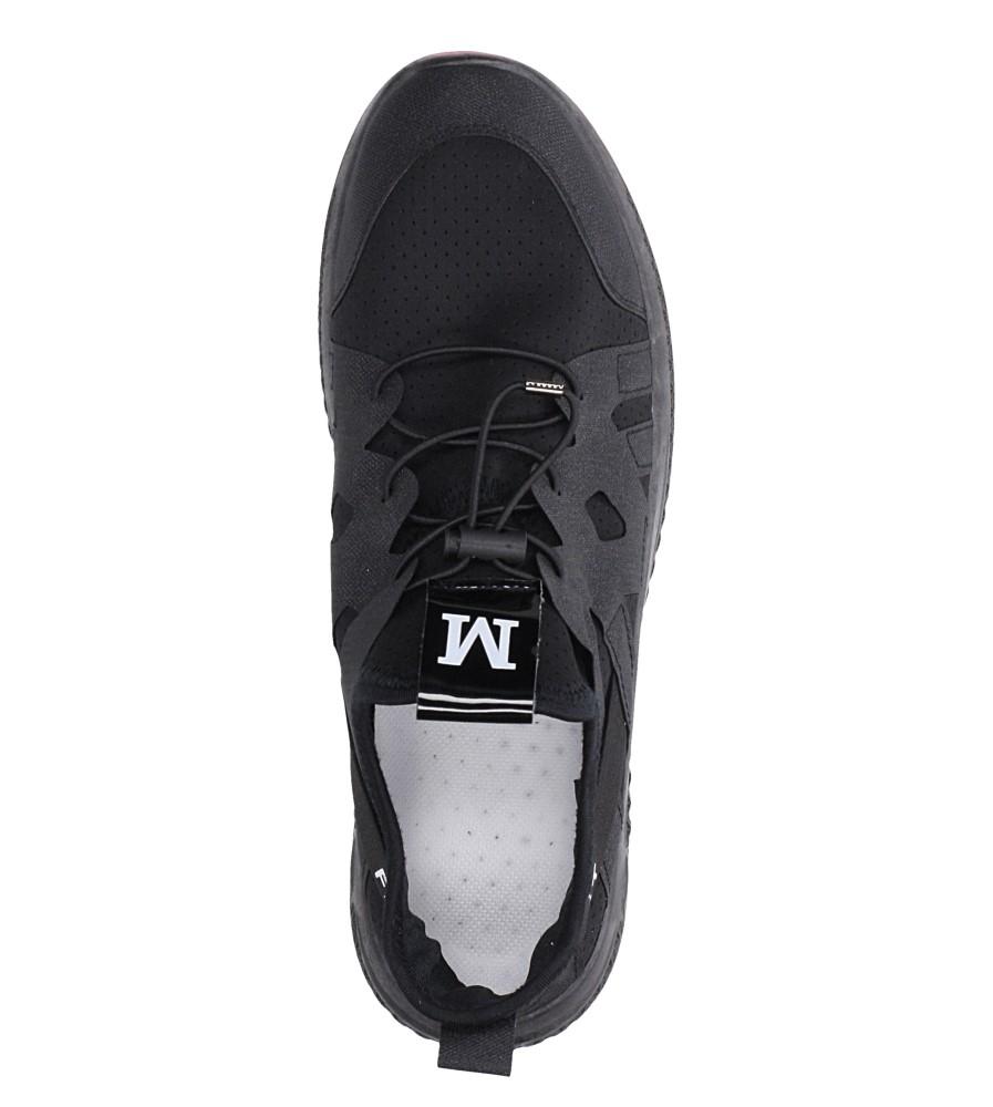 Czarne buty sportowe sznurowane Casu 988 wys_calkowita_buta 12.5 cm