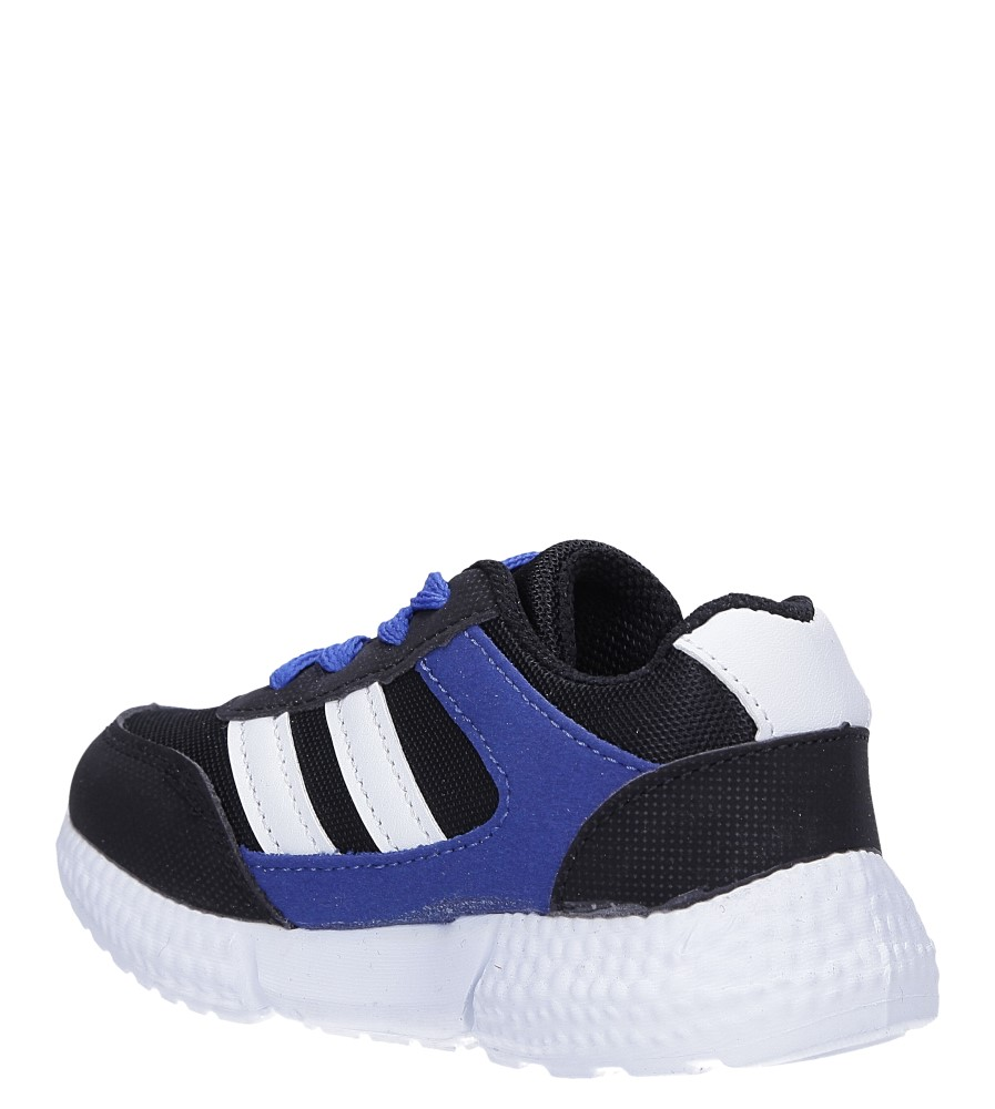Czarne buty sportowe sznurowane Casu A-9 sezon Całoroczny