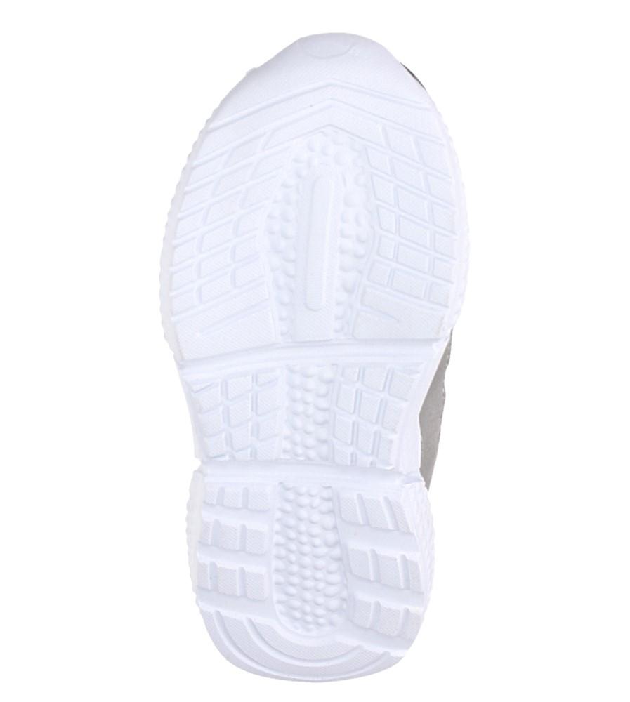 Czarne buty sportowe sznurowane Casu A-9 wysokosc_platformy 2.5 cm
