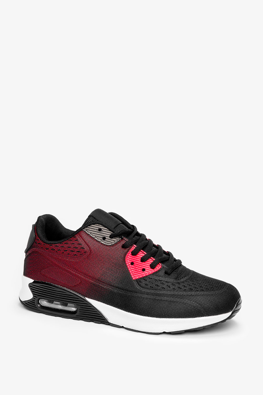 Czarne buty sportowe sznurowane Casu A3363-3 czarny