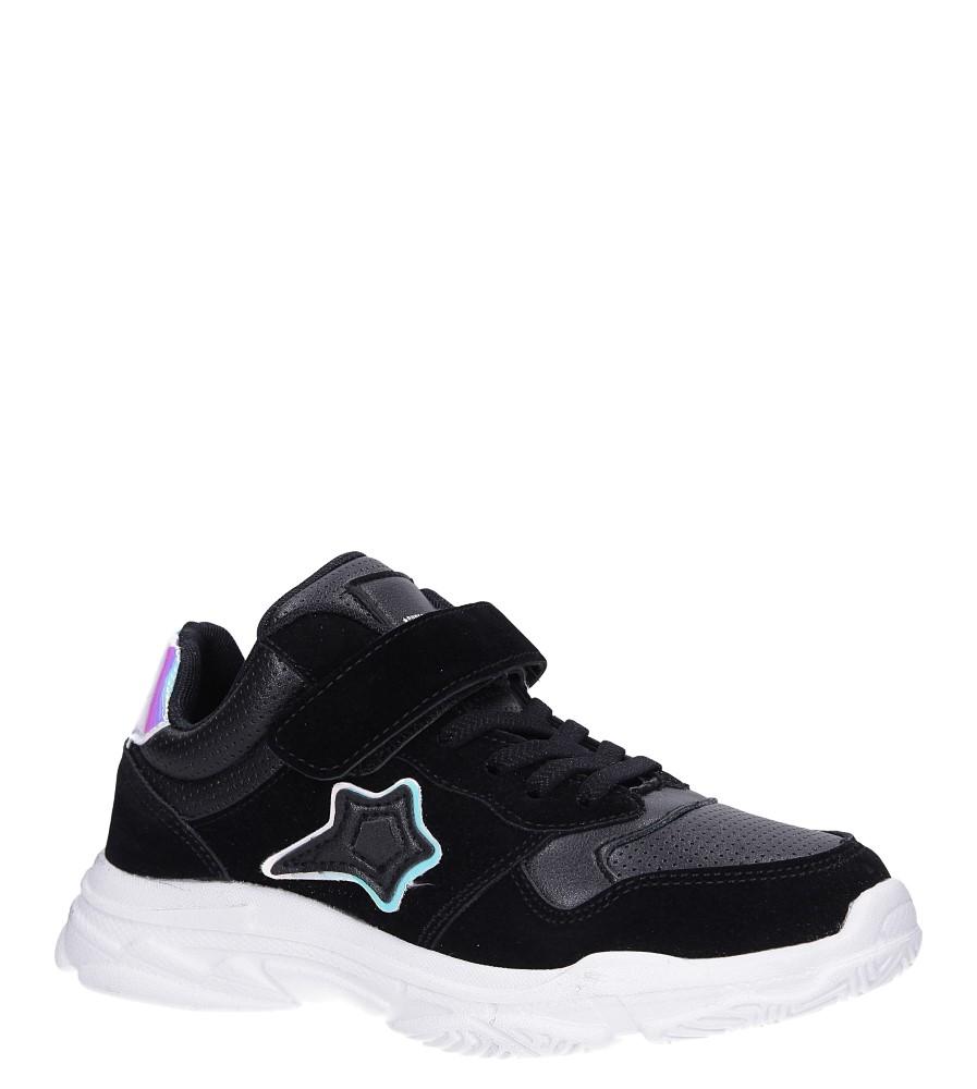 Czarne buty sportowe sznurowane Casu A70 producent Casu