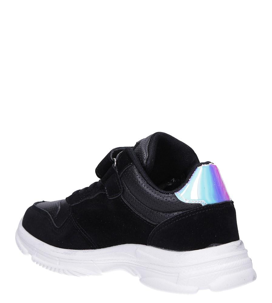 Czarne buty sportowe sznurowane Casu A70 sezon Całoroczny