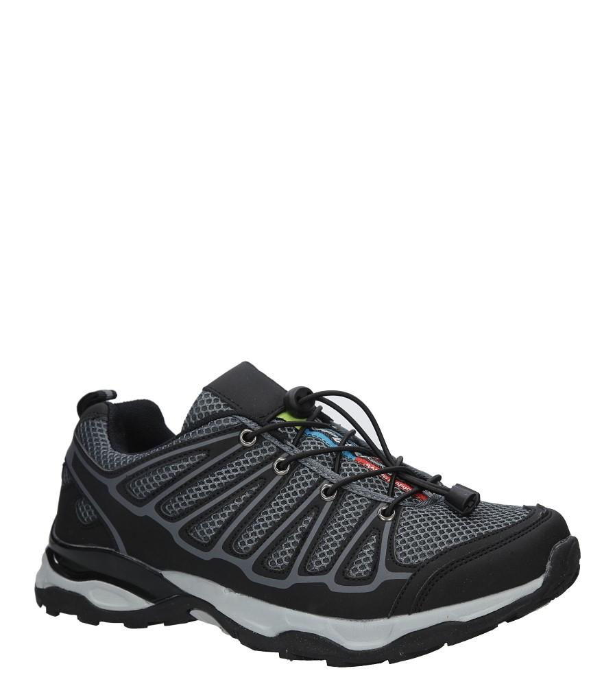 Czarne buty sportowe sznurowane Casu A8702-5 producent Casu