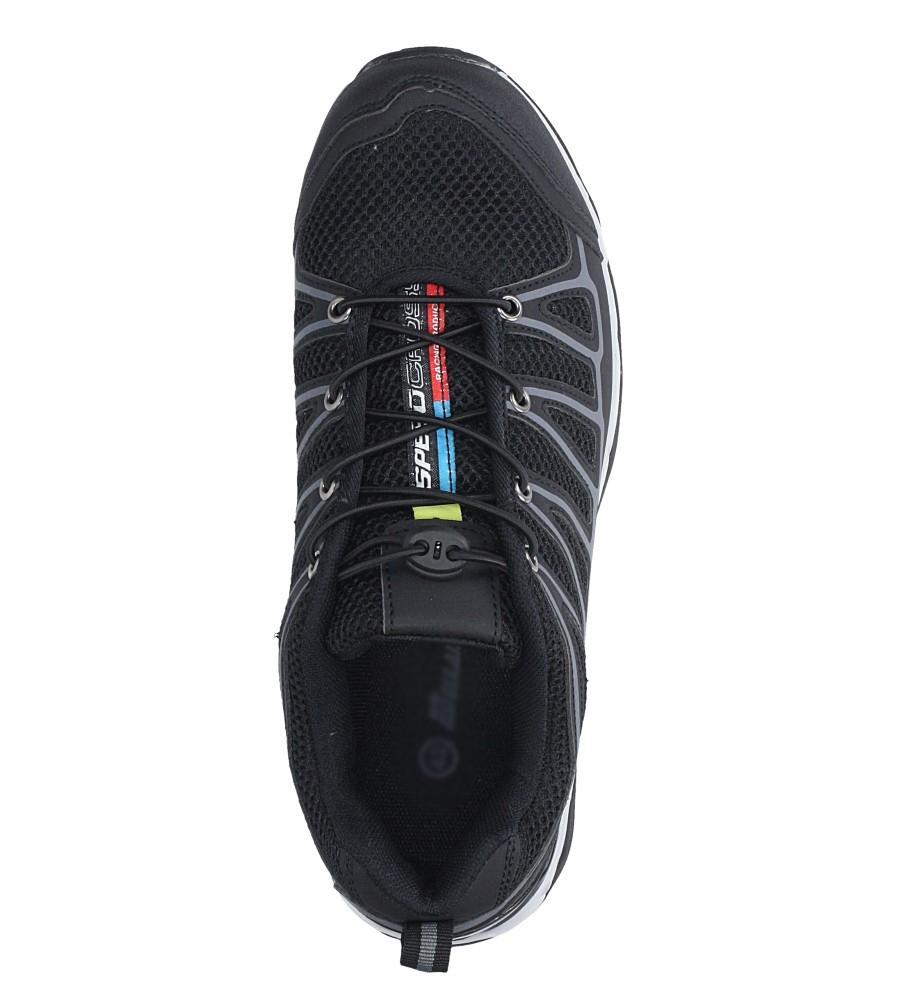 Czarne buty sportowe sznurowane Casu A8702-6 wys_calkowita_buta 11 cm