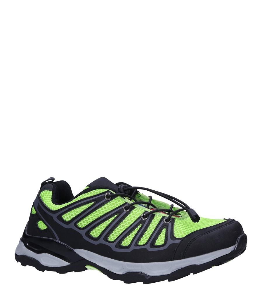 Czarne buty sportowe sznurowane Casu A8702 producent Casu