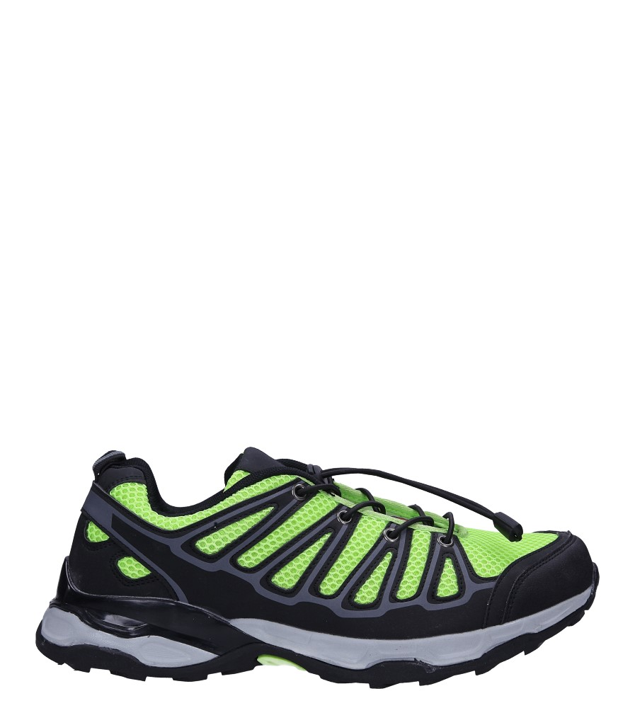 Czarne buty sportowe sznurowane Casu A8702