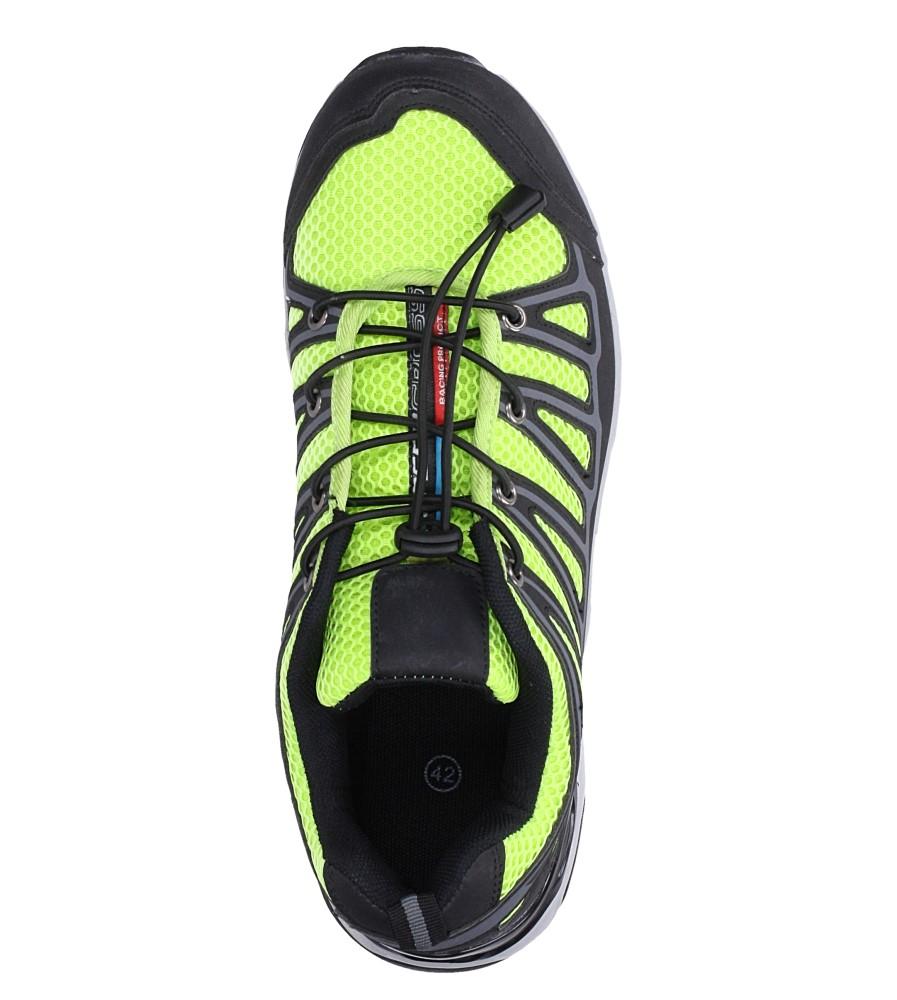 Czarne buty sportowe sznurowane Casu A8702 wys_calkowita_buta 11 cm