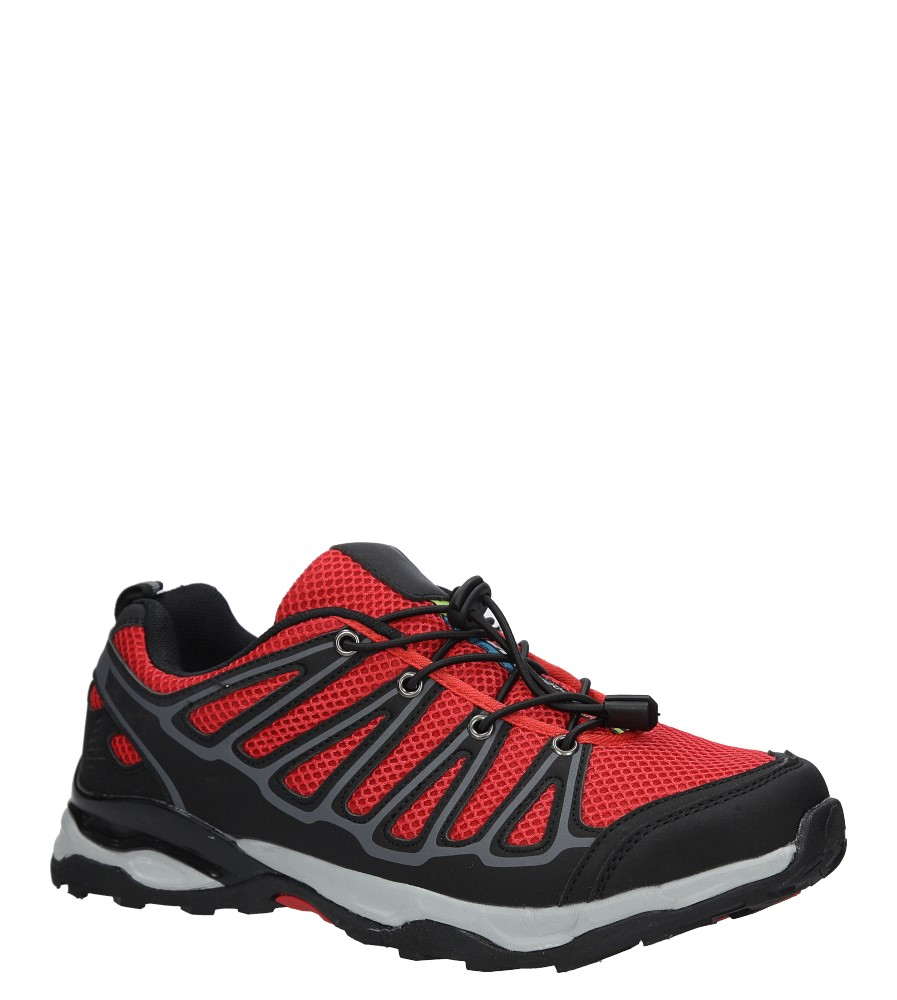 Czarne buty sportowe sznurowane Casu A8702-7 producent Casu