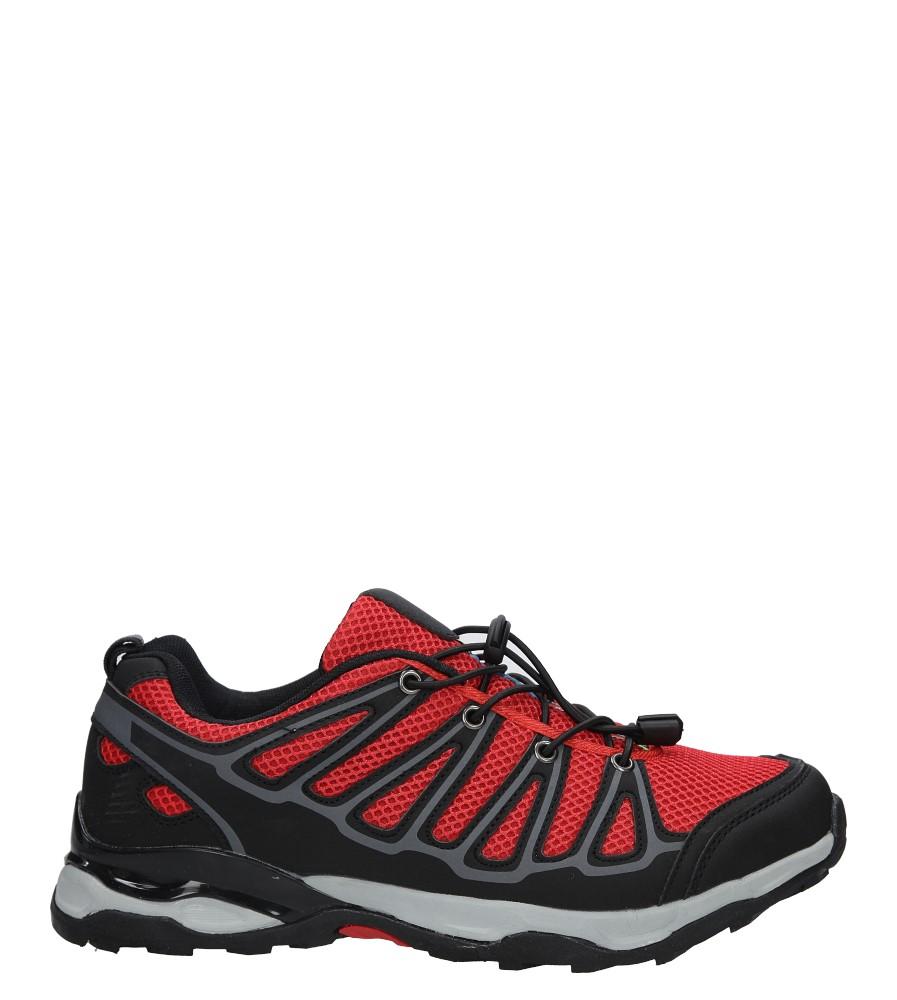 Czarne buty sportowe sznurowane Casu A8702-7