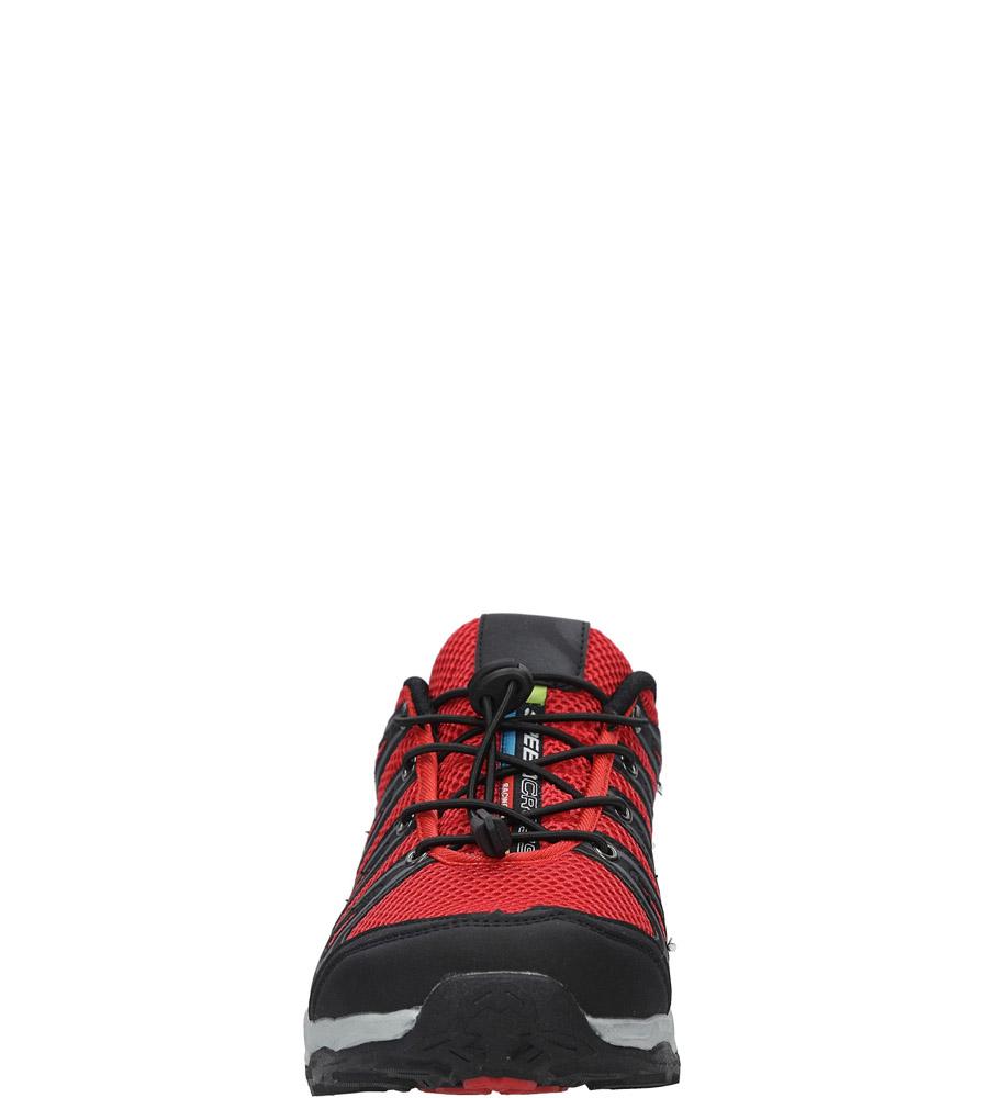 Czarne buty sportowe sznurowane Casu A8702-7 sezon Całoroczny