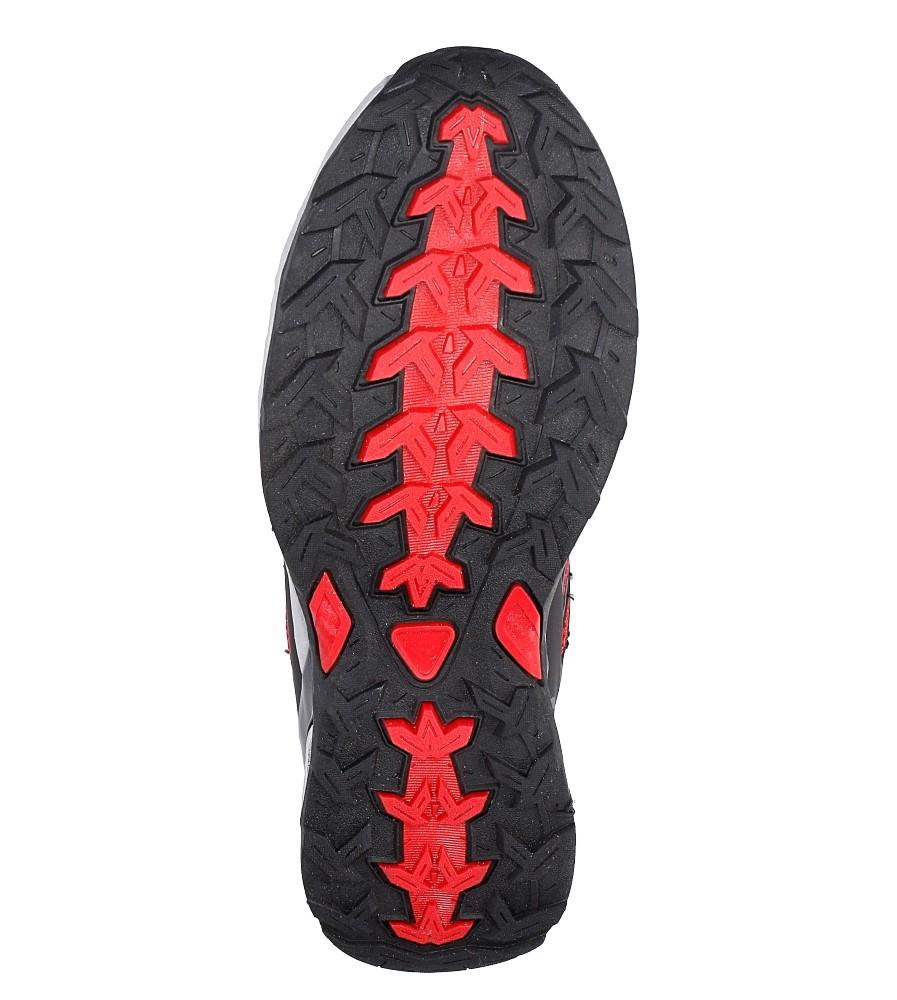 Czarne buty sportowe sznurowane Casu A8702-7 wys_calkowita_buta 11 cm
