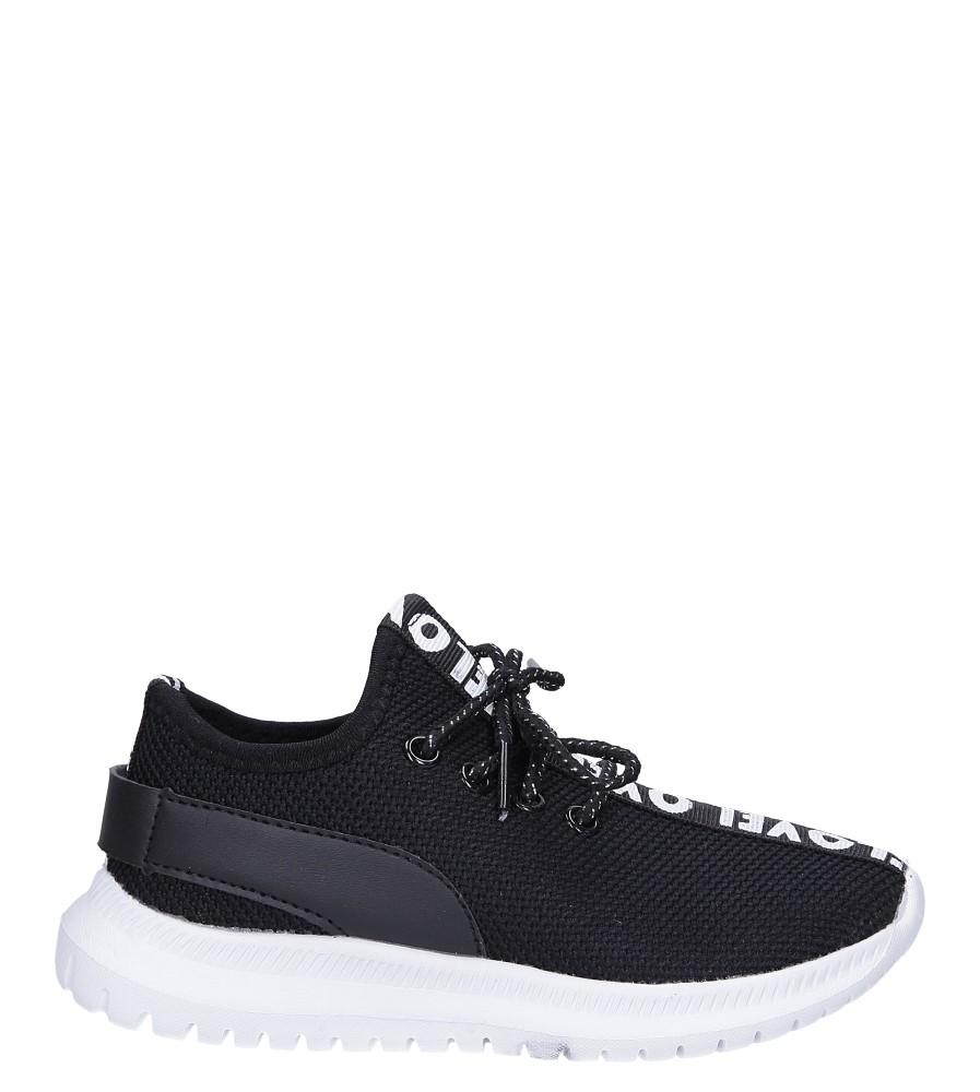 Czarne buty sportowe sznurowane Casu C-10