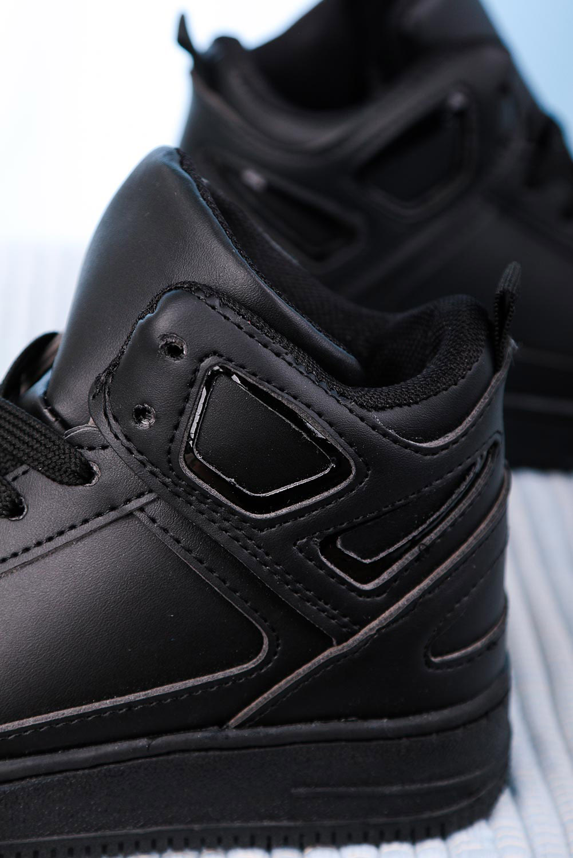 Czarne buty sportowe sznurowane Casu C917 model C917