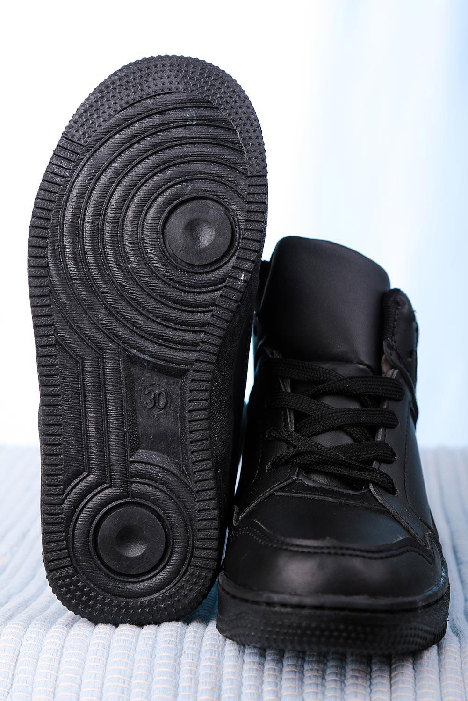 Czarne buty sportowe sznurowane Casu C917 kolor czarny