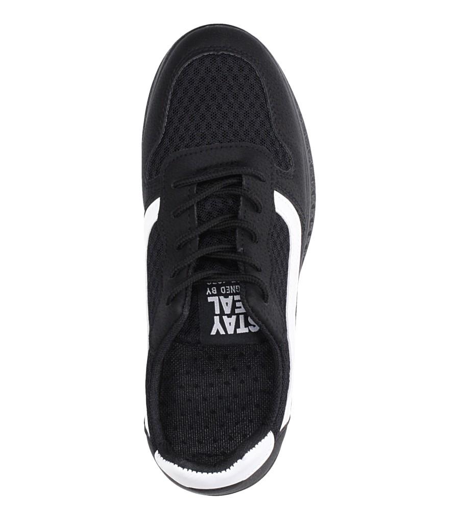 Czarne buty sportowe sznurowane Casu CH01 wys_calkowita_buta 11 cm