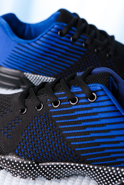 Czarne buty sportowe sznurowane Casu CH017-4 czarny