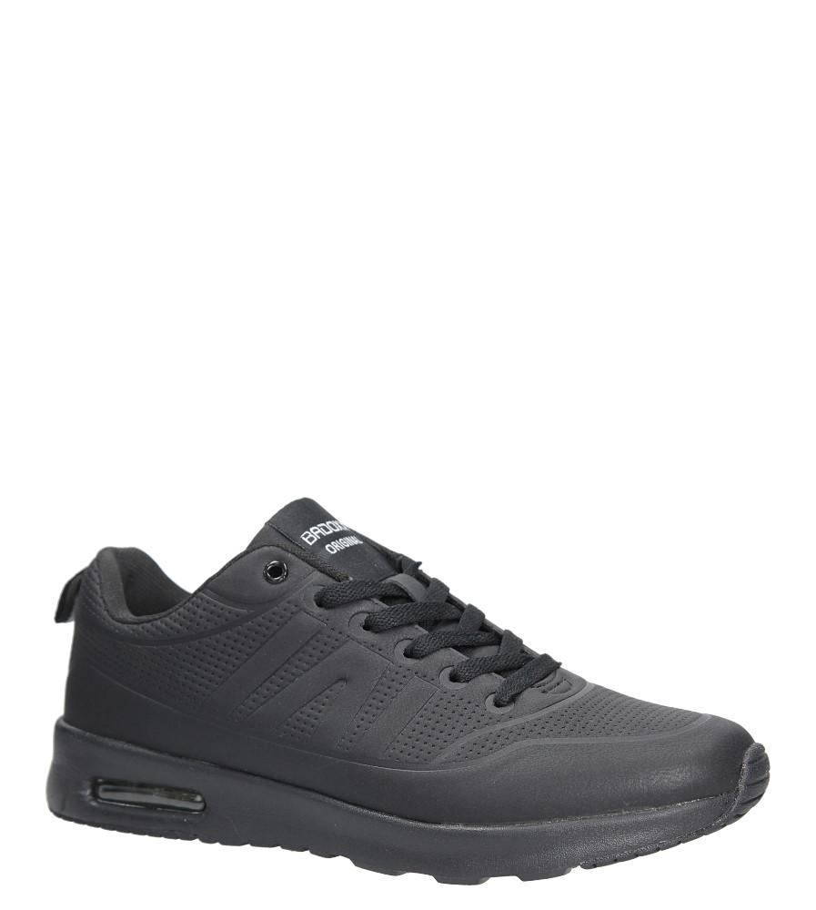 Czarne buty sportowe sznurowane Casu MXC7550 czarny