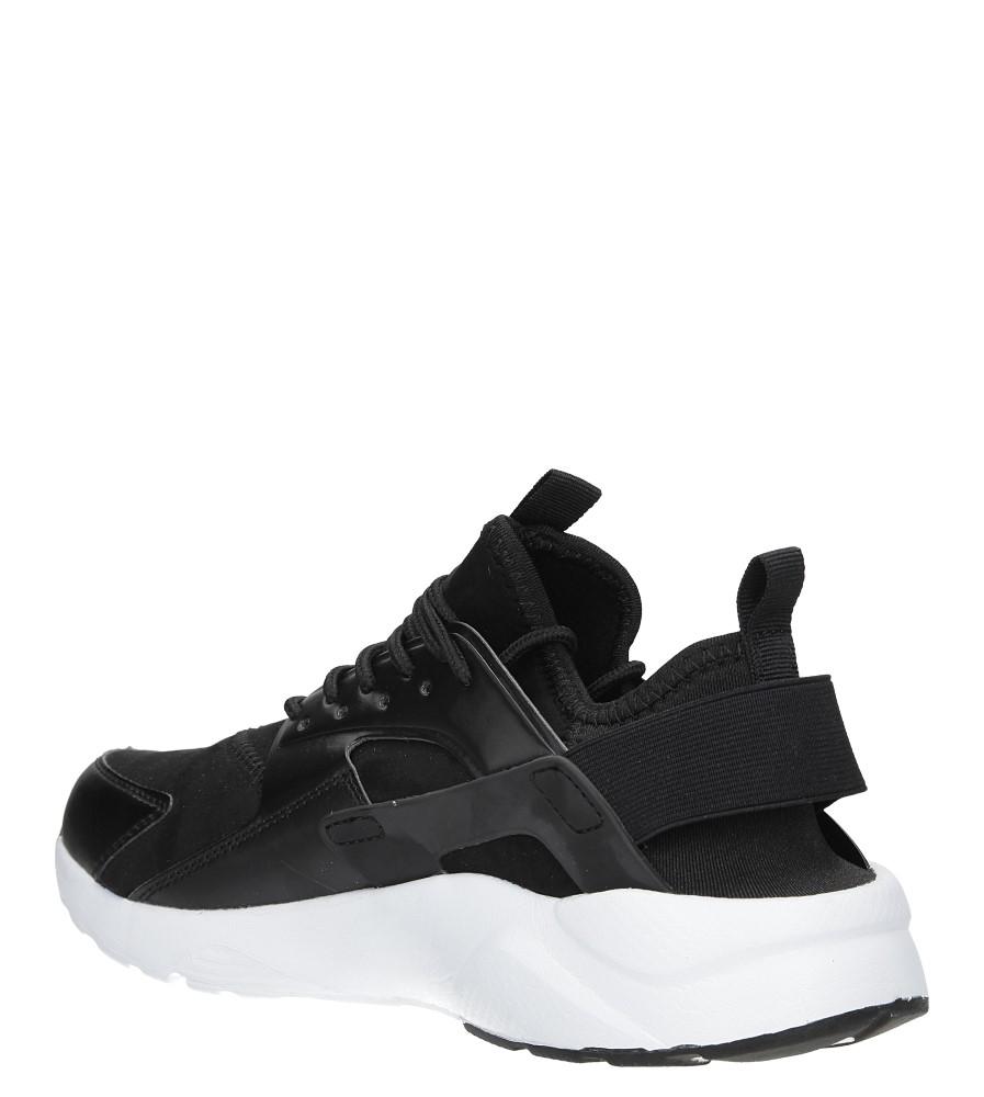 2c1c86f1 ... Czarne buty sportowe sznurowane Casu U8102-9 sezon Całoroczny ...
