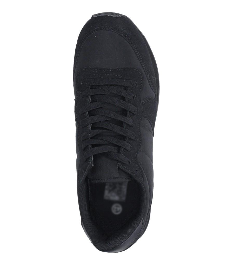 Czarne buty sportowe sznurowane Casu U8106-1 wys_calkowita_buta 13 cm