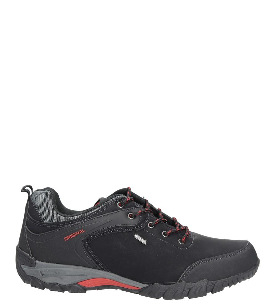 Czarne buty trekkingowe Casu EXC7567 czarny