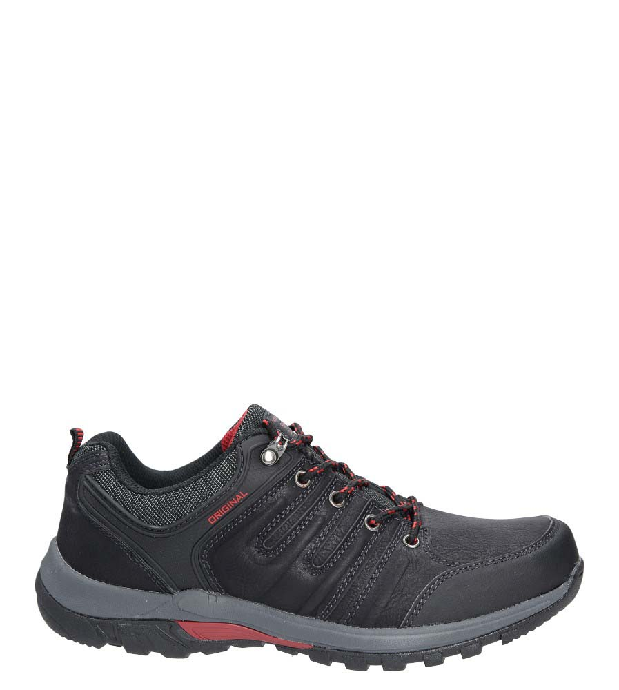 Czarne buty trekkingowe Casu MXC7359