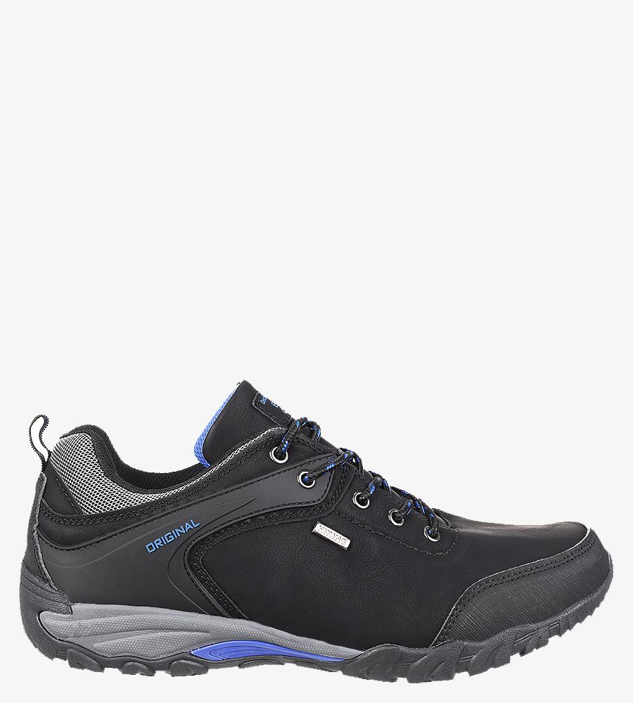 Czarne buty trekkingowe Casu MXC7567 producent Casu