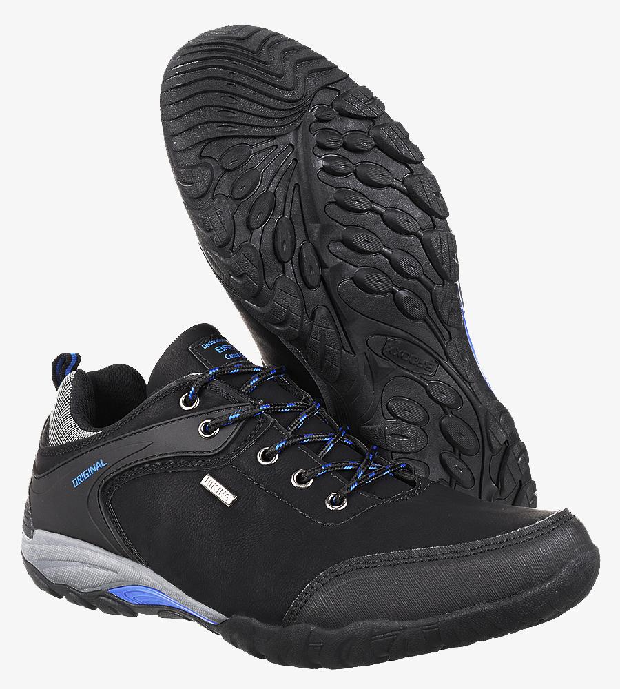 Czarne buty trekkingowe Casu MXC7567 wysokosc_platformy 2 cm