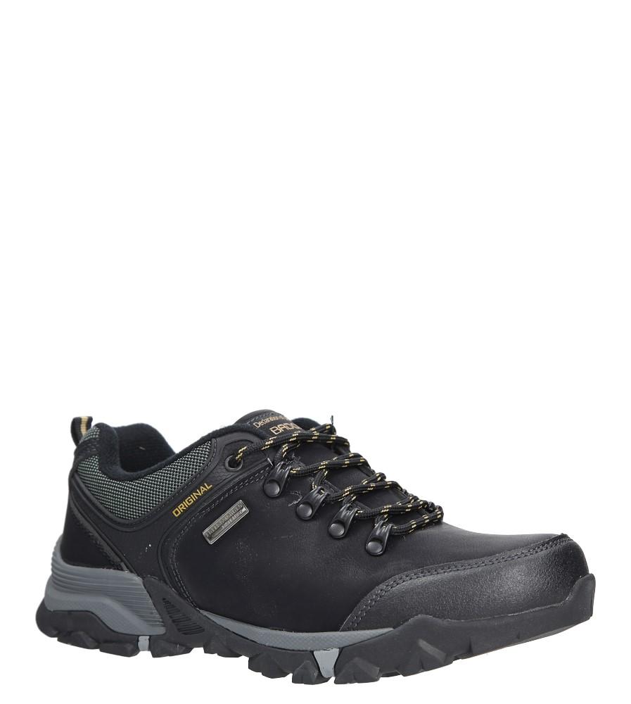 Czarne buty trekkingowe Casu MXC7608