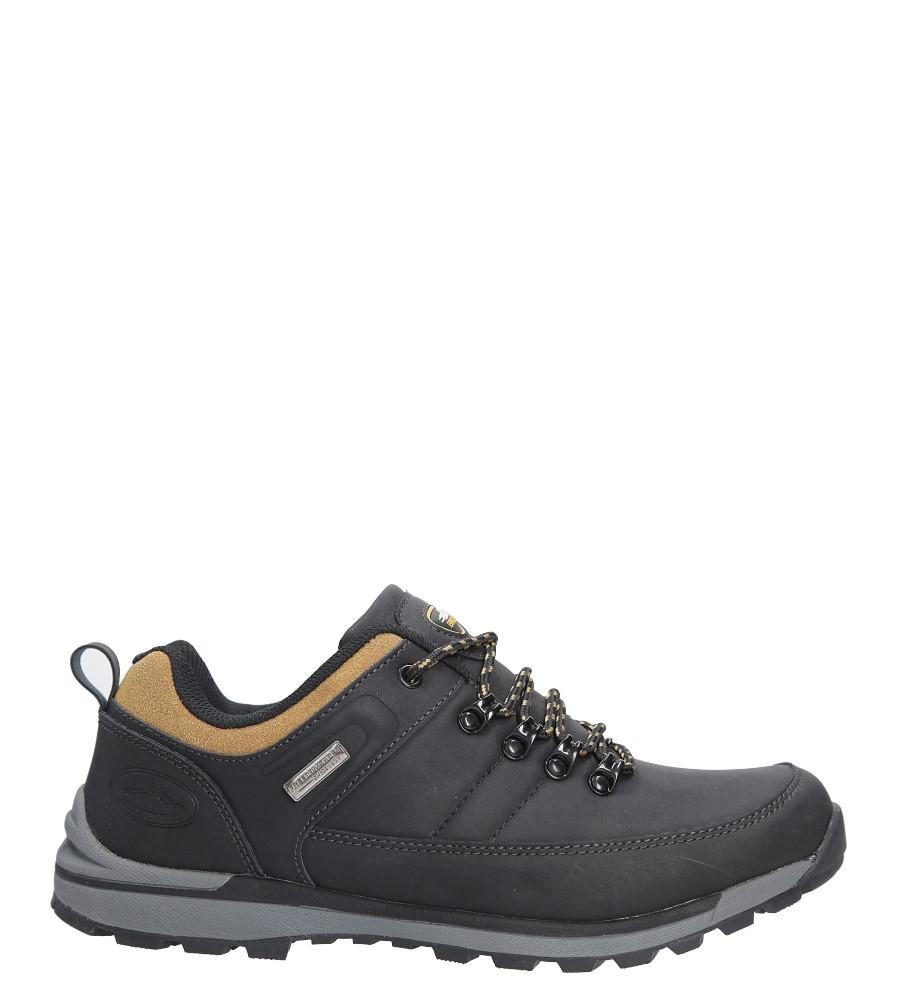 Czarne buty trekkingowe Casu MXC7621