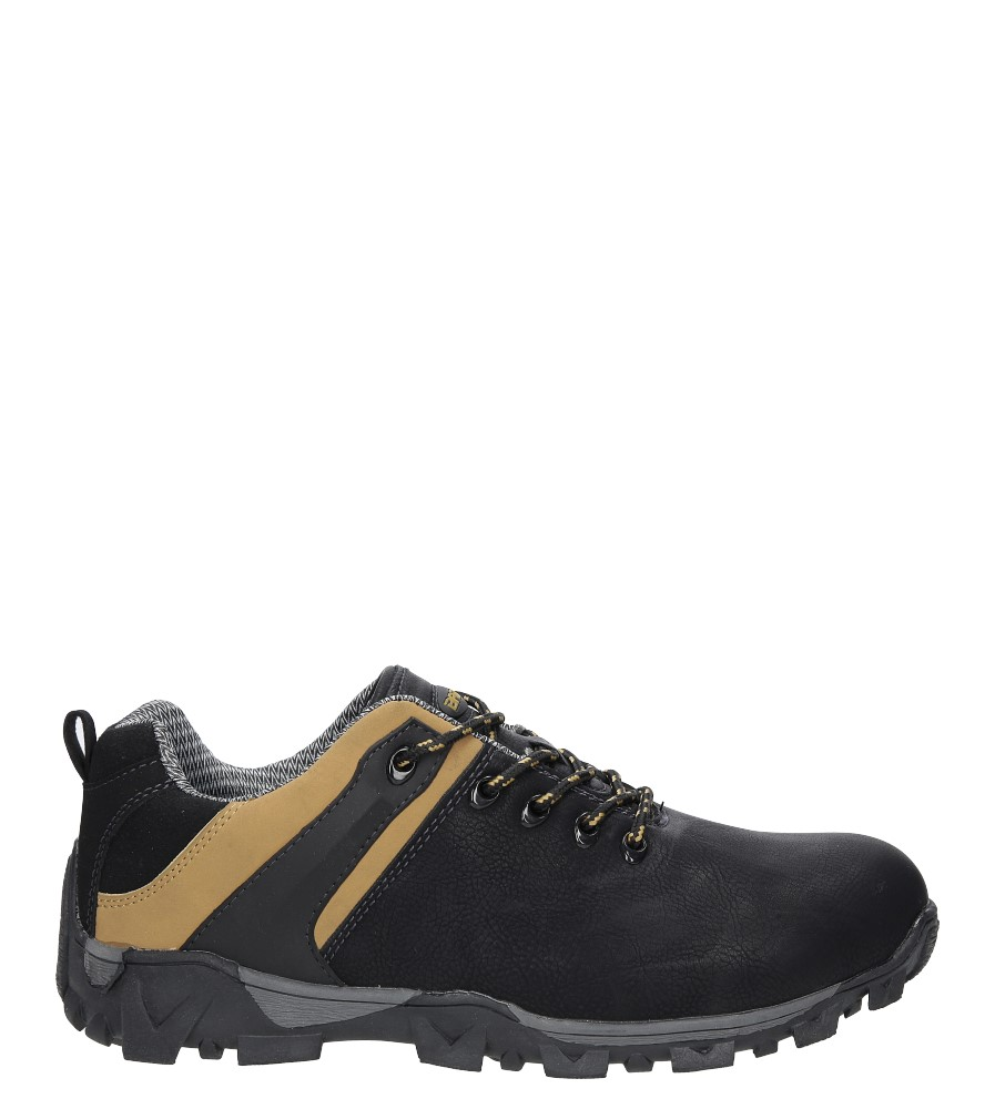 Czarne buty trekkingowe Casu MXC9968