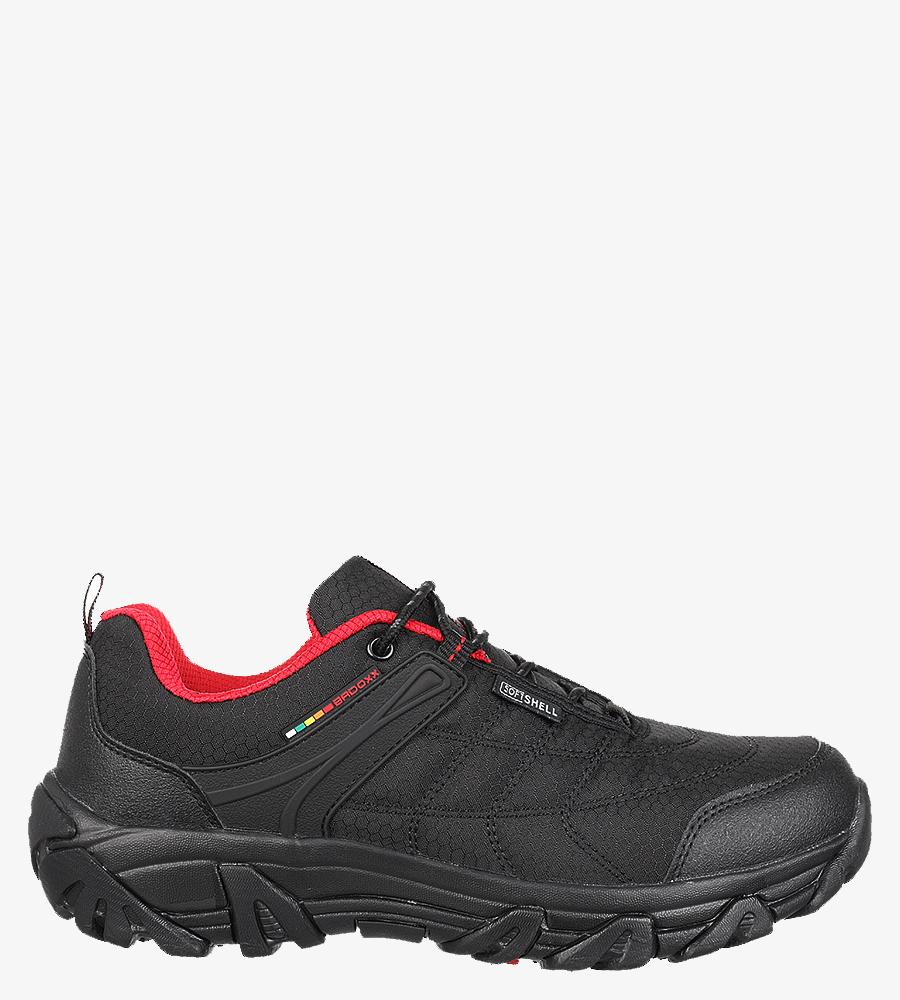 Czarne buty trekkingowe sznurowane Casu MXC8100 czarny