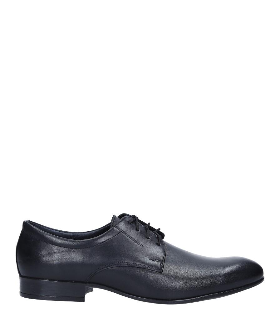 Czarne buty wizytowe skórzane sznurowane Windssor 654