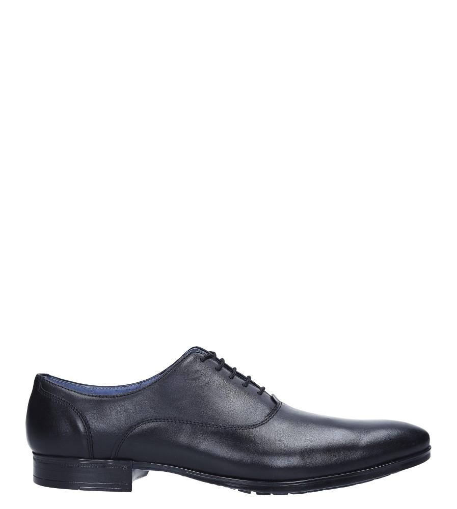 Czarne buty wizytowe skórzane sznurowane Windssor 660