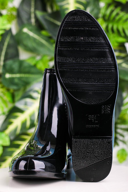Czarne kalosze sztyblety Casu YJ-19 kolor czarny