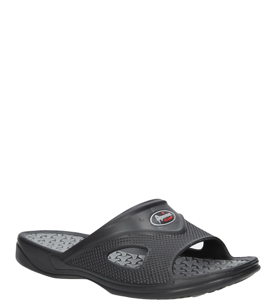 Czarne klapki American A093-170606-3