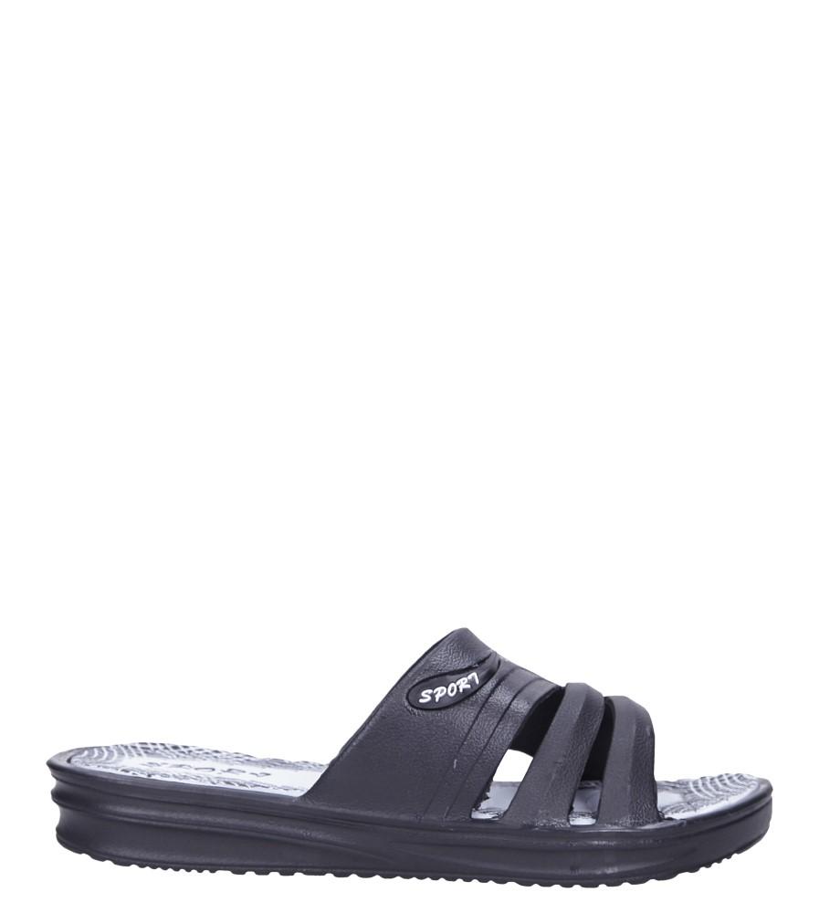 Czarne klapki basenowe Casu 7-Z906