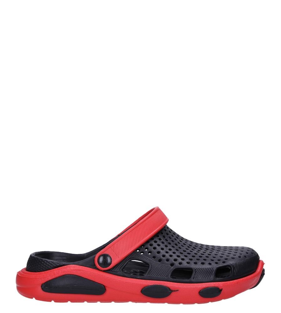 Czarne klapki basenowe Casu CY-7001