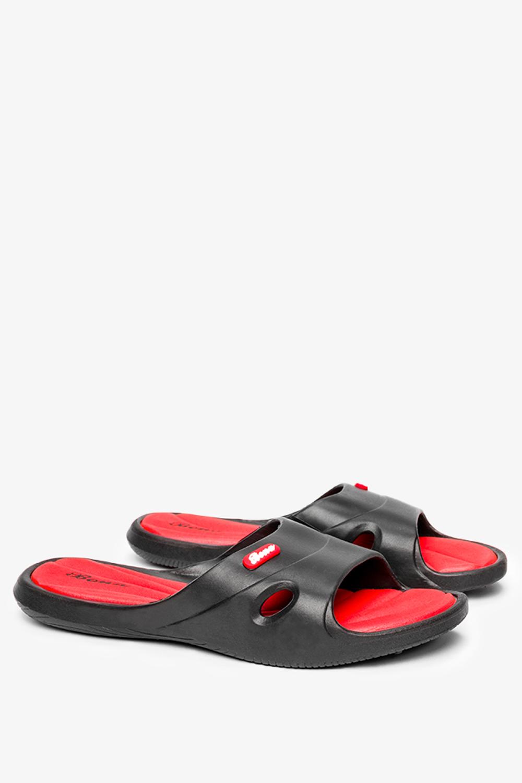 Czarne klapki basenowe Casu DY3060/C czarny