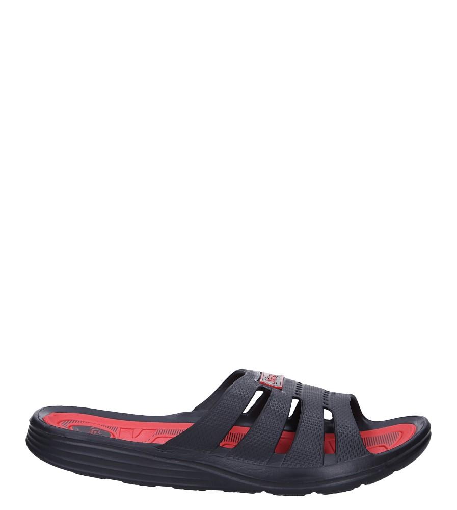 Czarne klapki basenowe Casu J2045