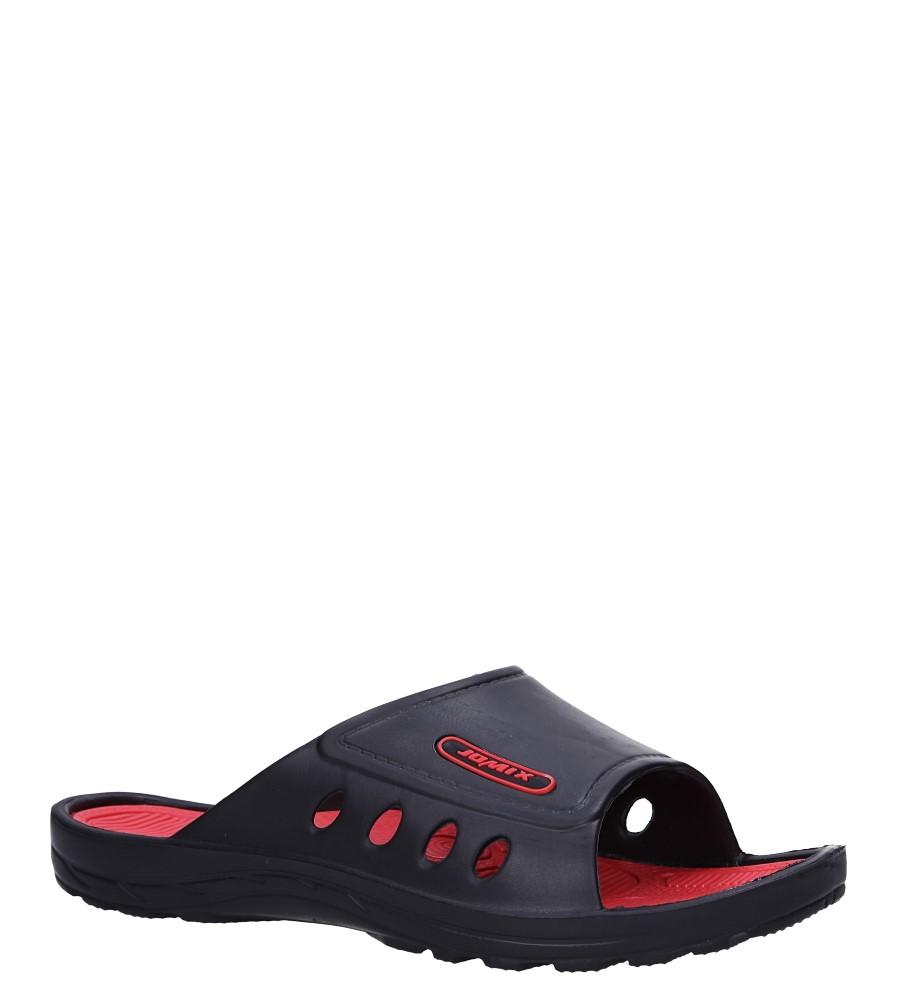 Czarne klapki basenowe Casu SU0290