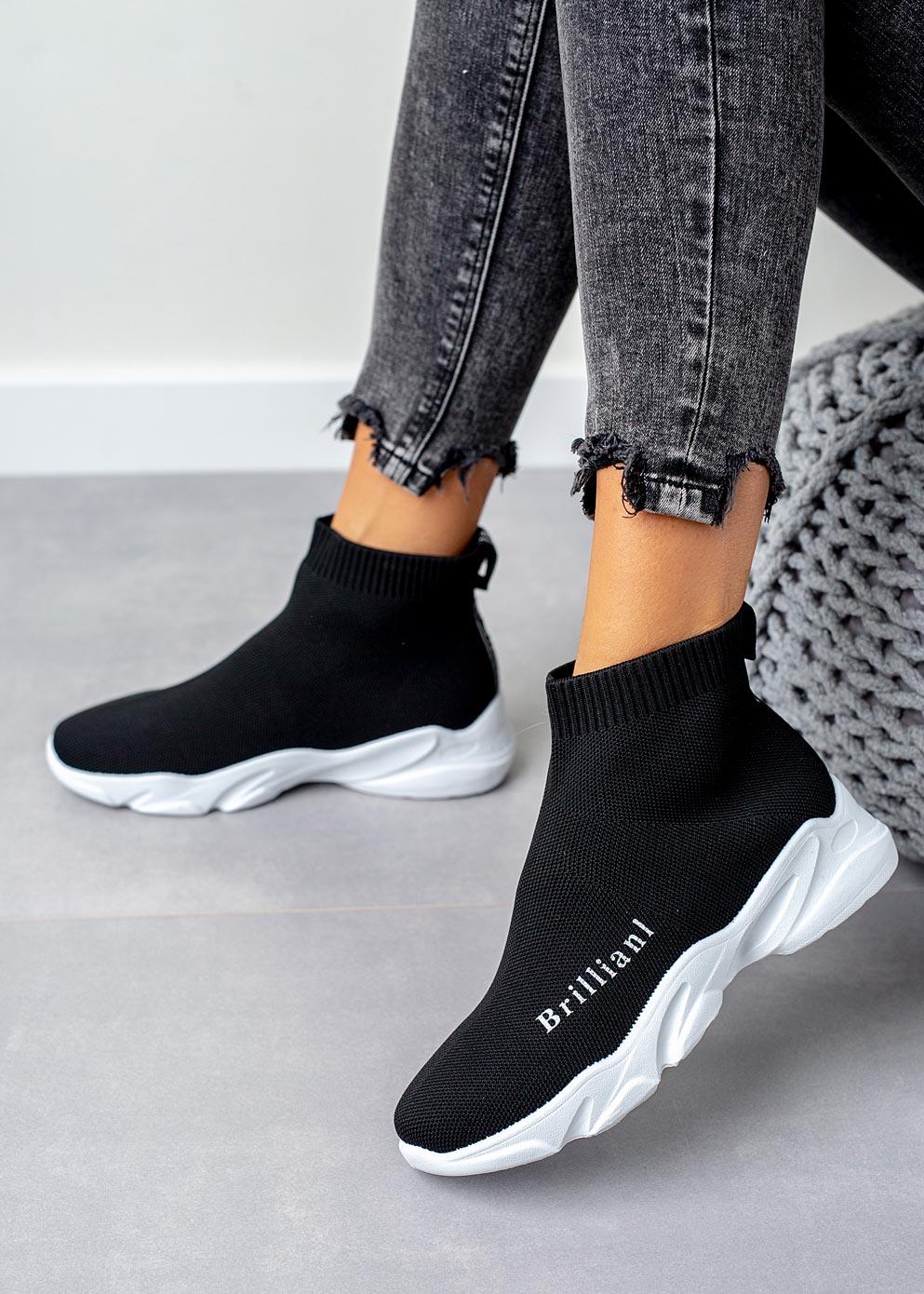 Sneakersy skarpetkowe zapinane na zamek błyskawiczny Ceny