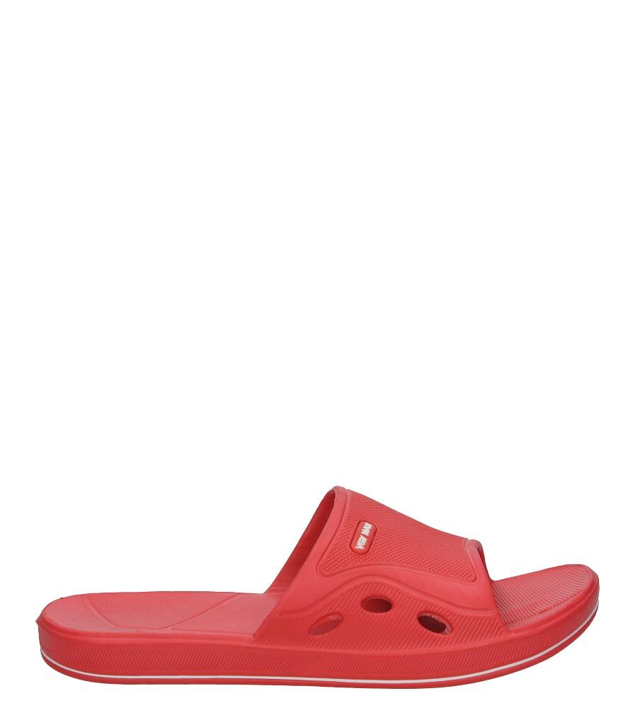 Czarwone klapki Casu L736A