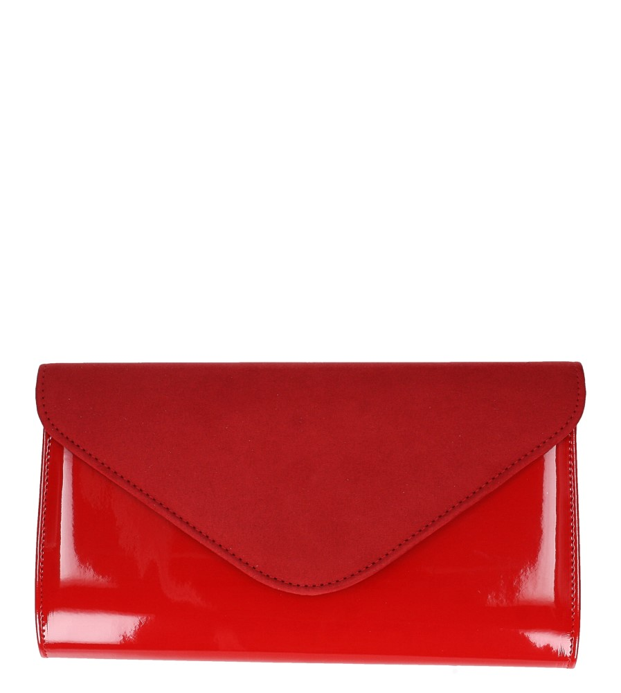 Czerwona torebka wizytowa Casu 25
