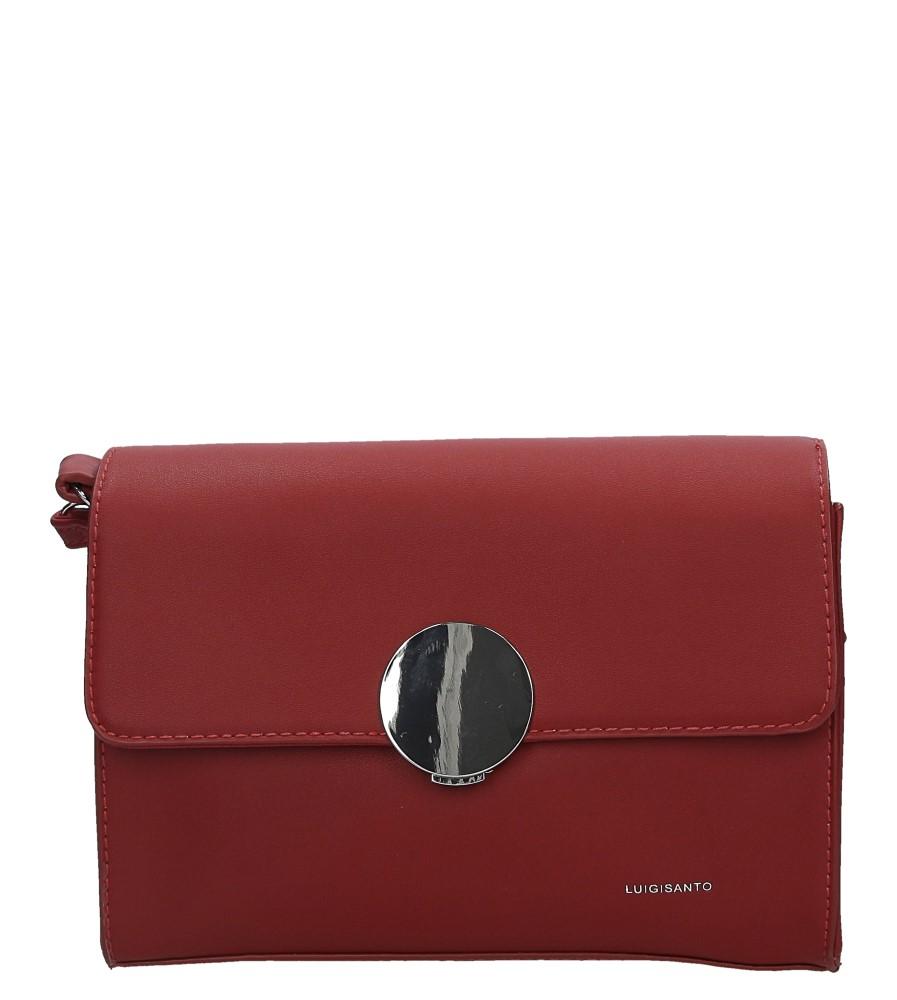 Czerwona torebka wizytowa Casu 3543