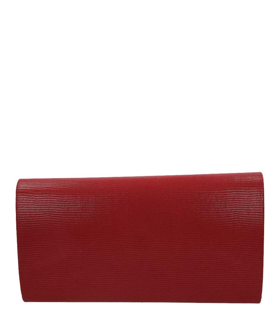 Czerwona torebka wizytowa Casu R06