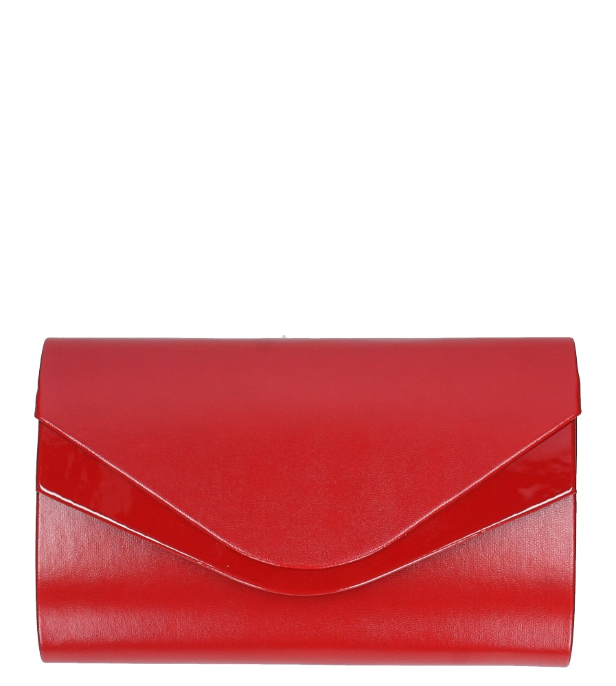 Czerwona torebka wizytowa Casu R20B1